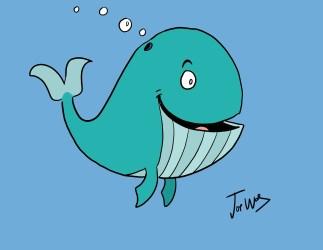 File:Blue Whale Cartoon jpg Wikimedia Commons