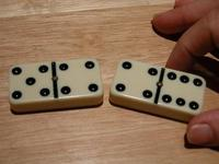 Example of dominoes move