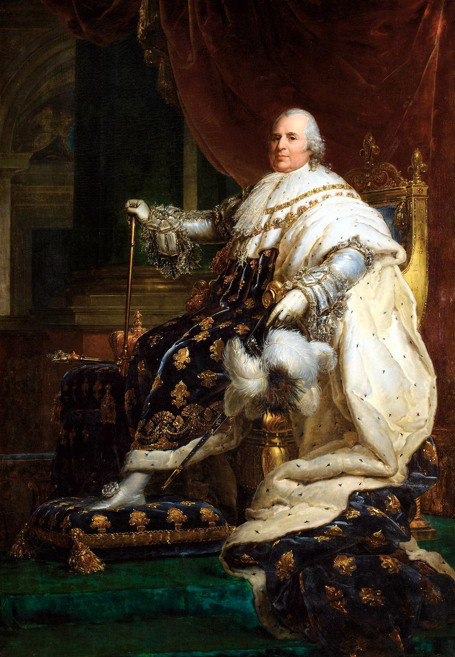 Comment Est Mort Louis 14 : comment, louis, Louis, XVIII, Wikipedia
