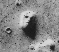 "The ""Face on Mars"" was one of the most strikin..."