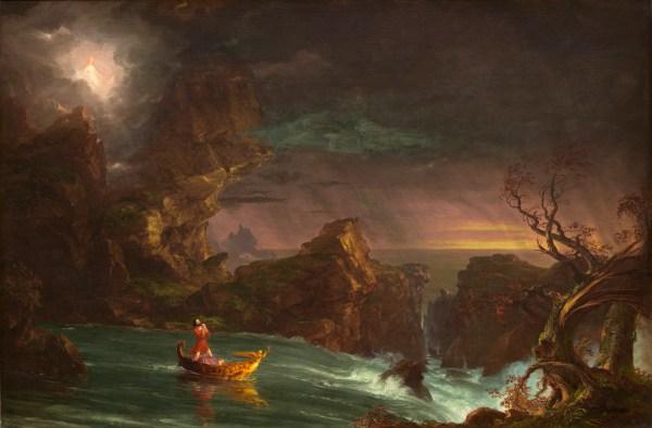 File Thomas Cole Voyage Of Life 1842 National - Wikipedia