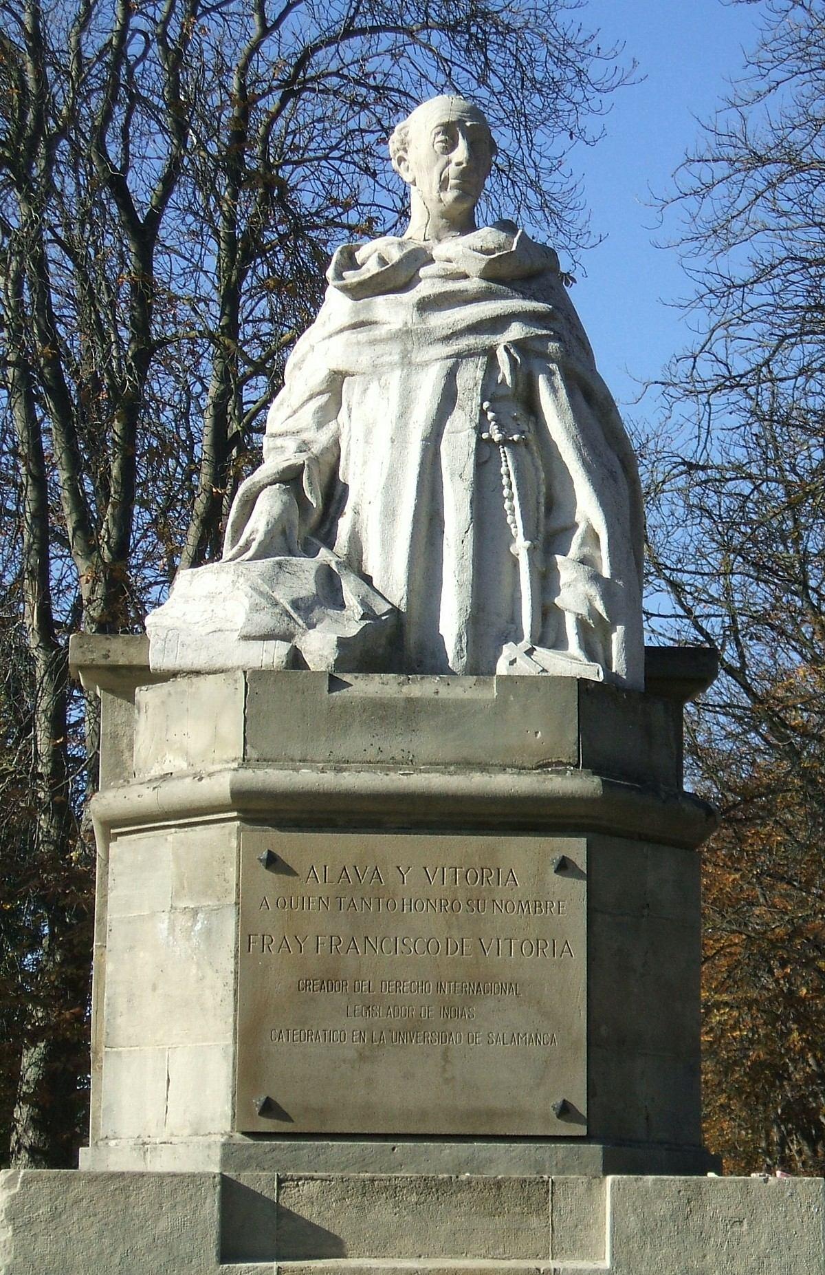 Francisco de Vitoria  Wikipedia la enciclopedia libre