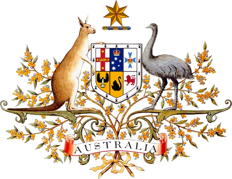 Australian Coat of Arms (adopted 1912)