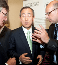 English: Ban Ki-moon, Secretary General of the...