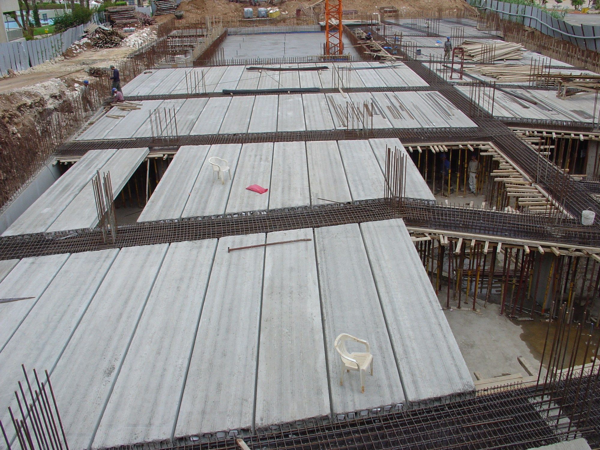 hight resolution of hollow core slab