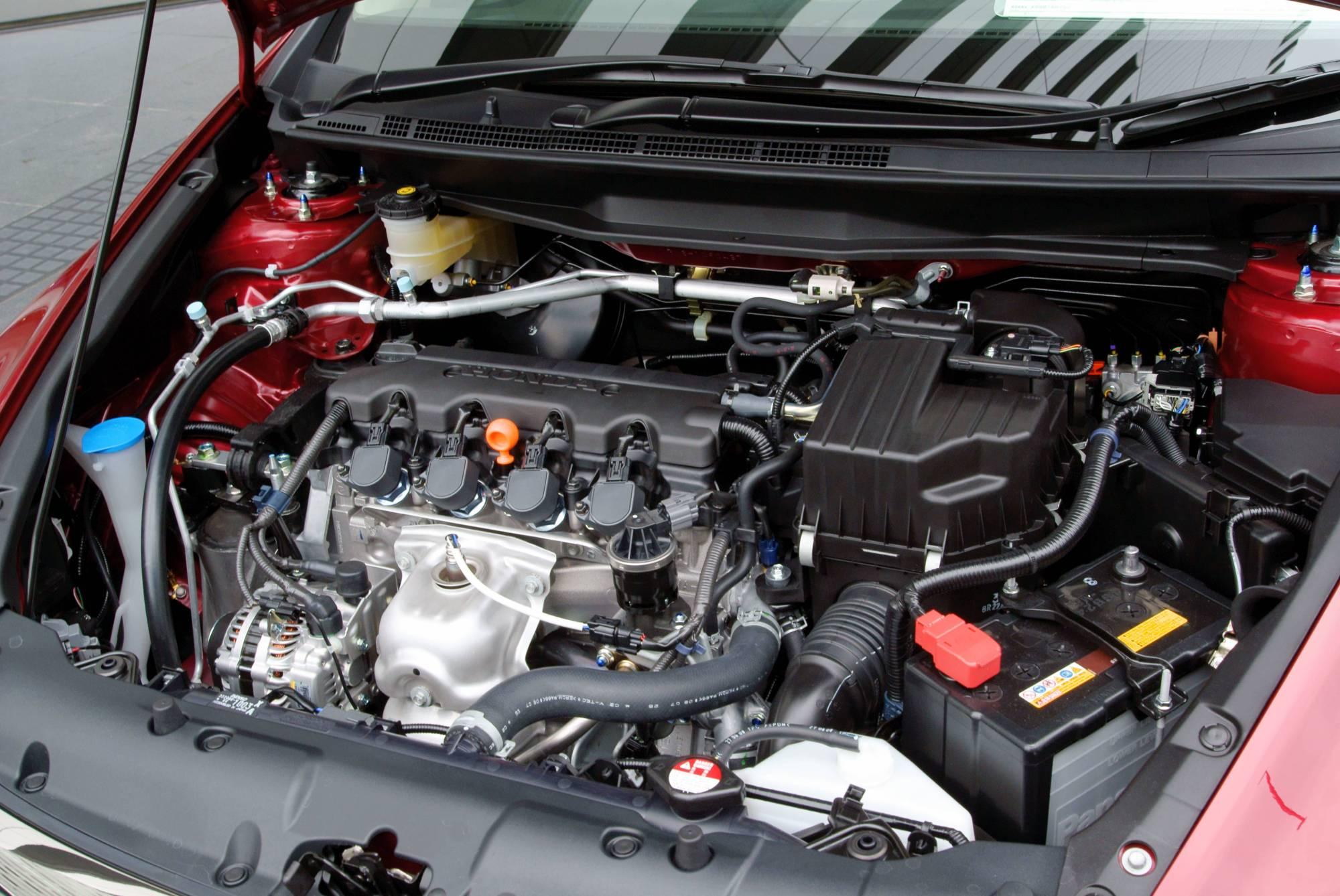 hight resolution of honda r engine