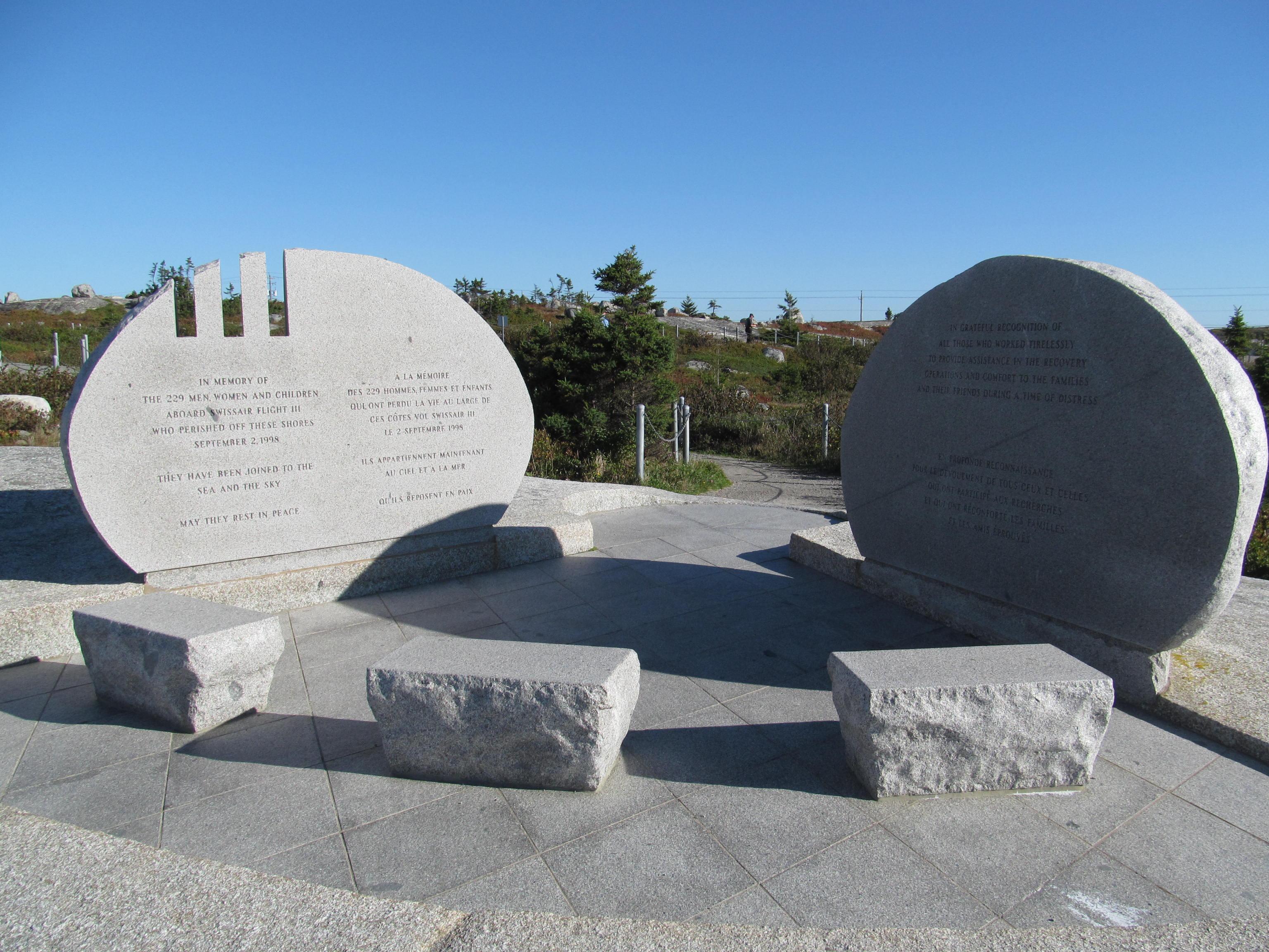 FileSwissair Flight 111 Memorial  Peggys Cove Nova