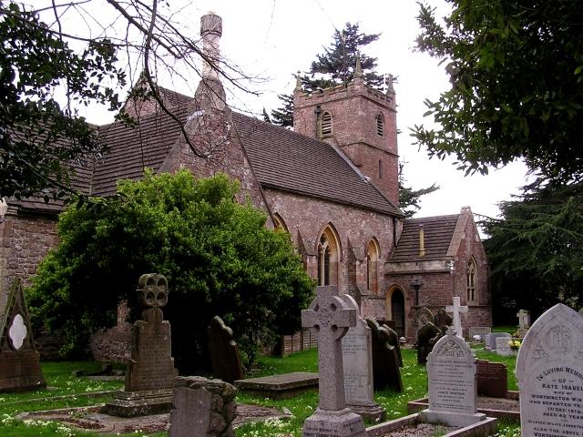St Andrew's parish church, Alvington, Gloucestershire