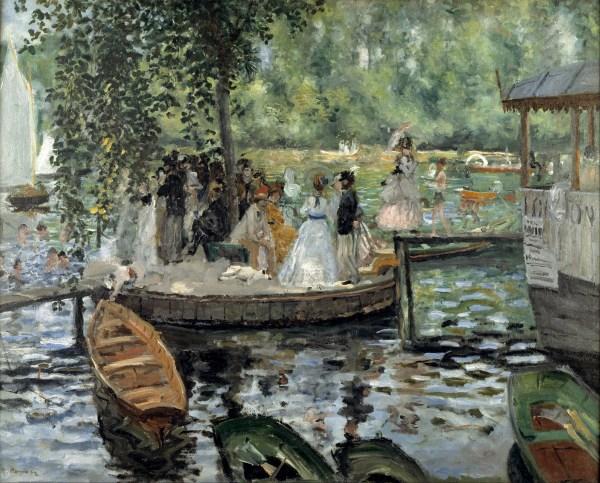 La Grenouillere Monet and Renoir