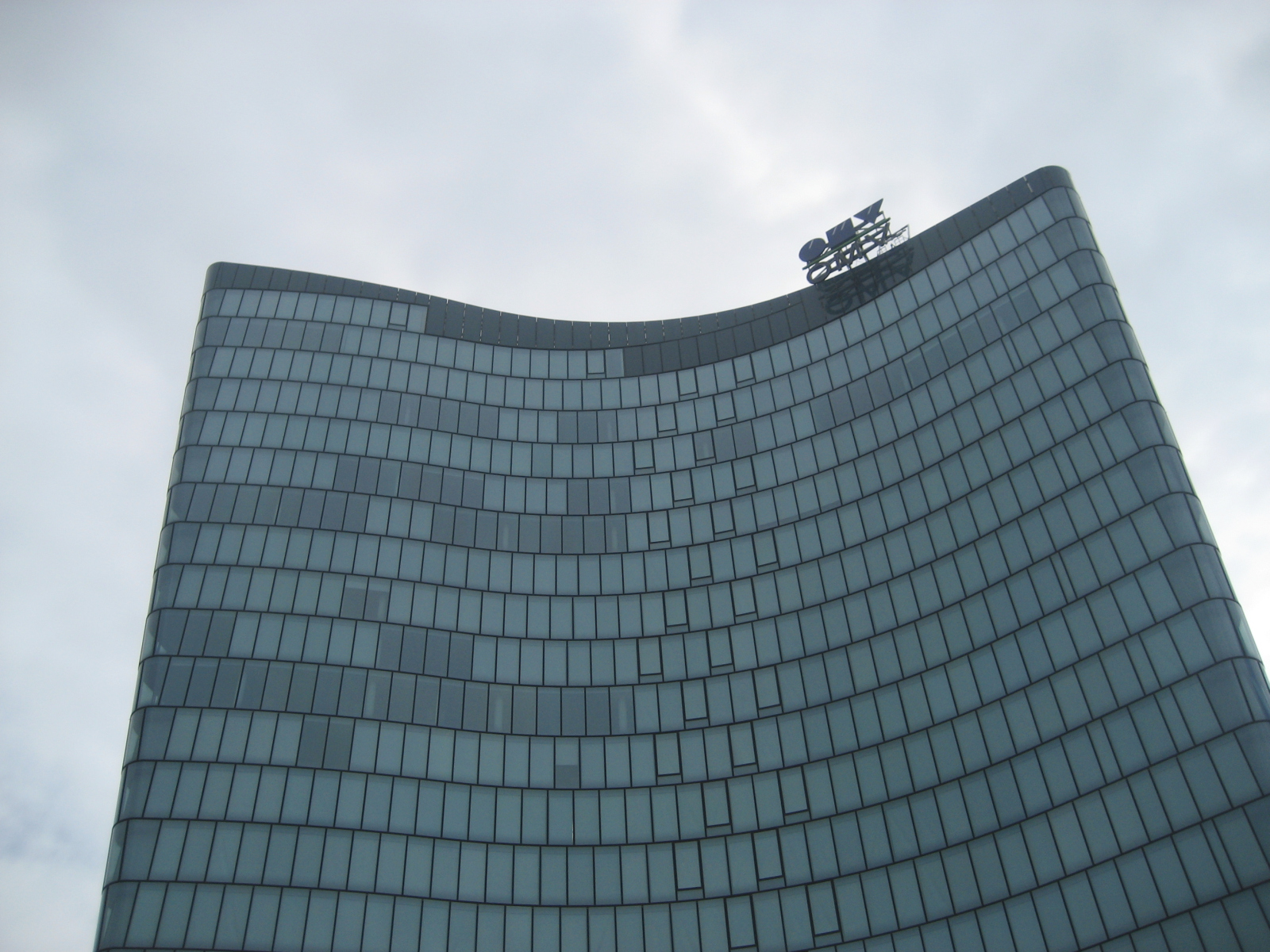 Headquarters of the company OMV, in Vienna ATW...