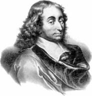 Błażej Pascal - francuski matematyk, fizyk i religijny filozof