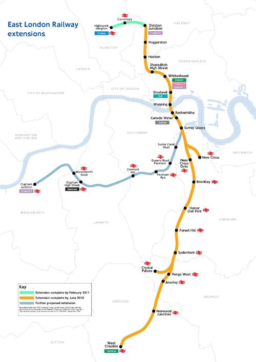 East London Line extension