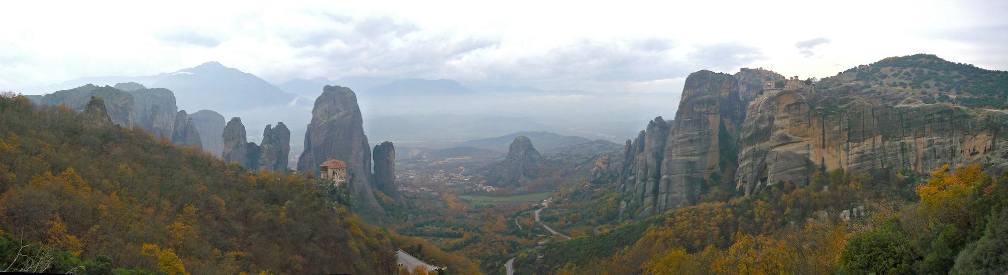 Meteora Valley
