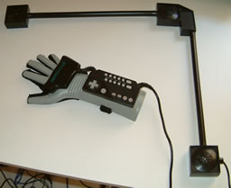 The Japanese Power Glove with receivers