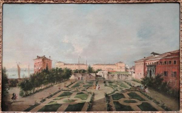 File Garden Of Palazzo Contarini Dal Zaffo Late 1770s