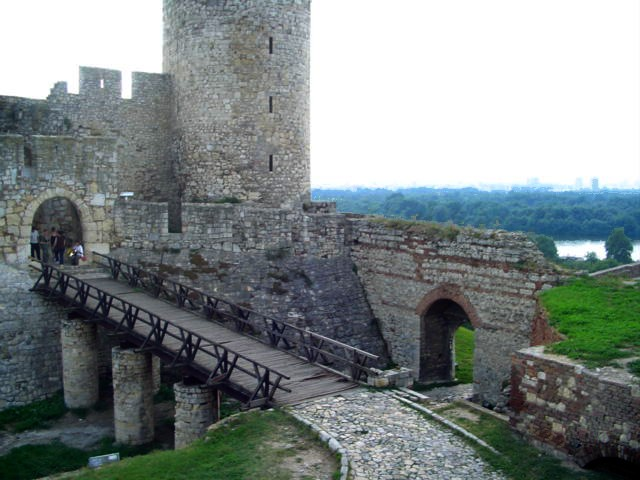 The Despot Stefan Tower in Kalemegdan Fortress, early XV century