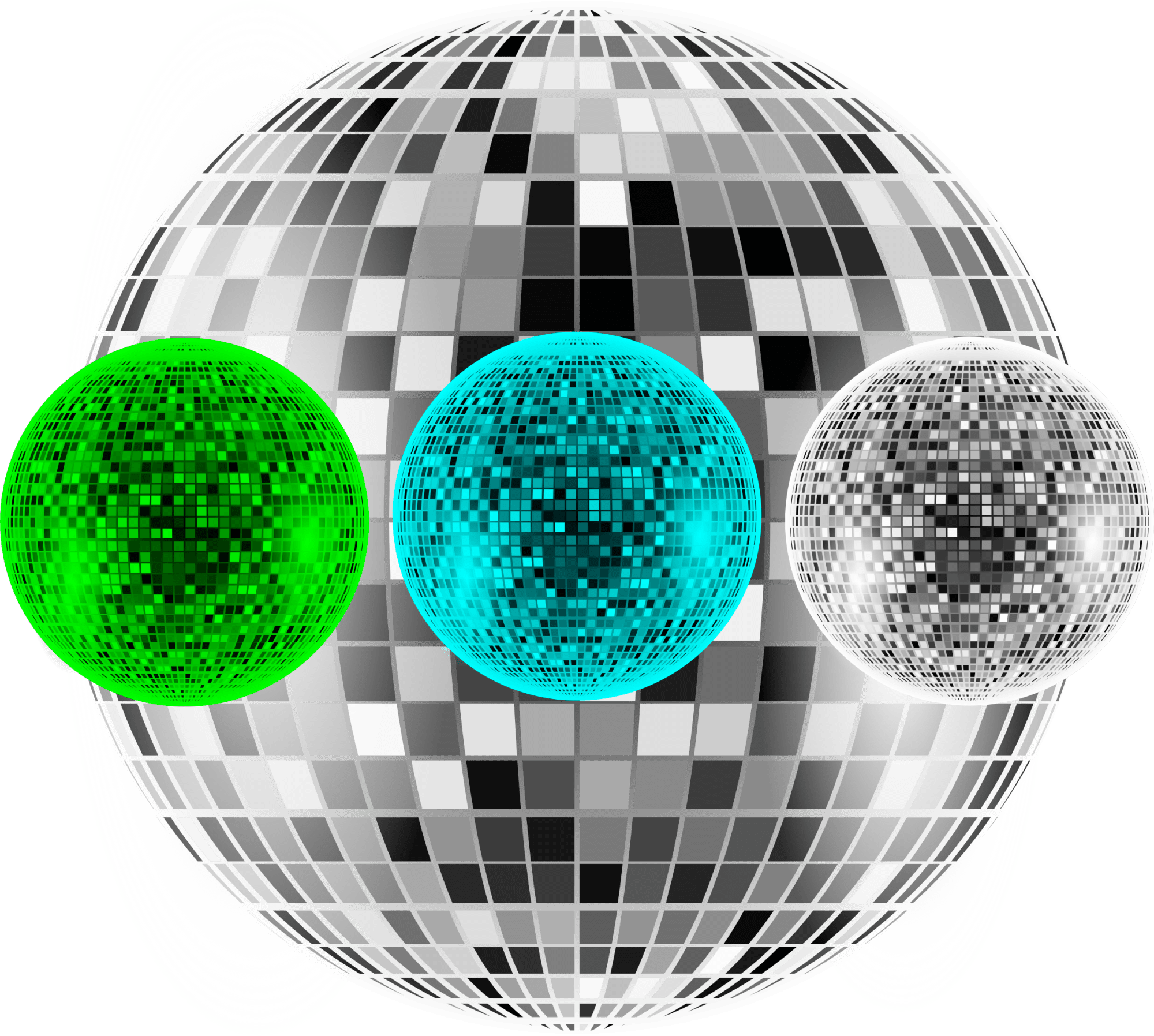 hight resolution of file disco balls png