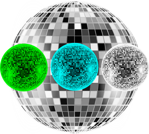 small resolution of file disco balls png