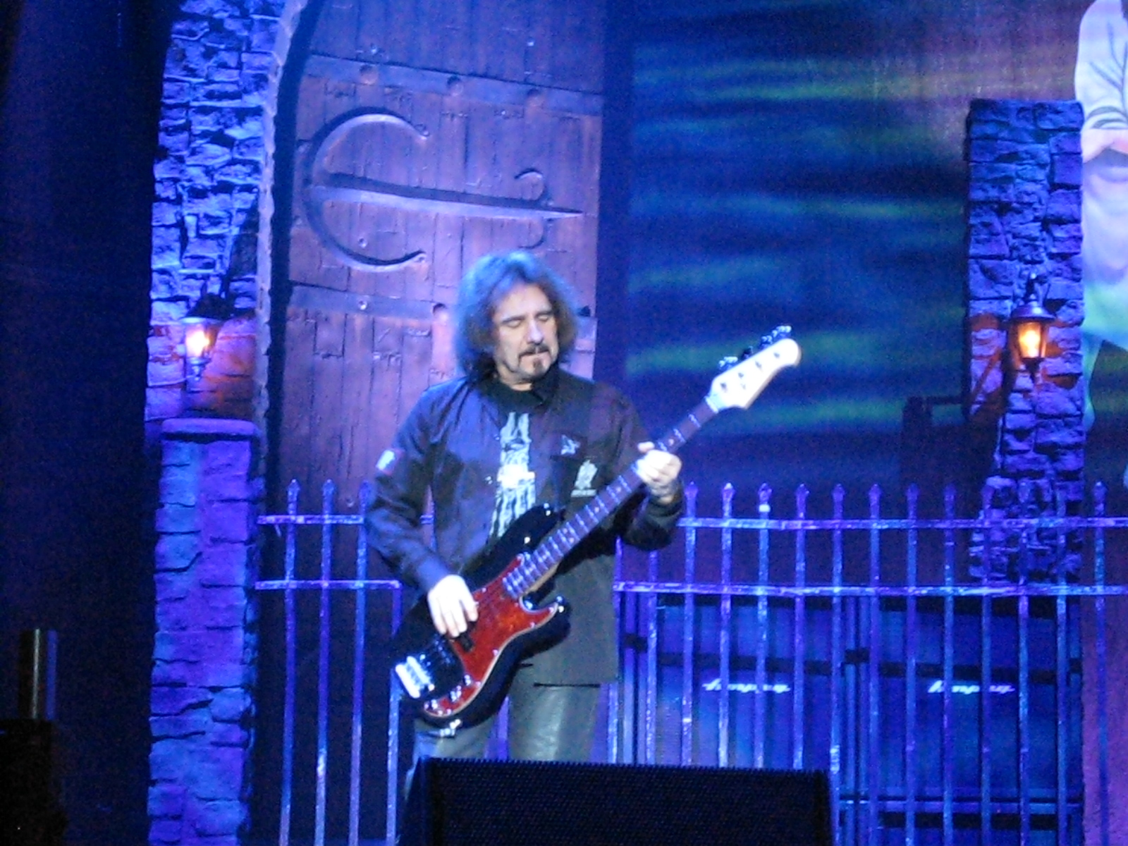 Geezer Butler con Heaven and Hell