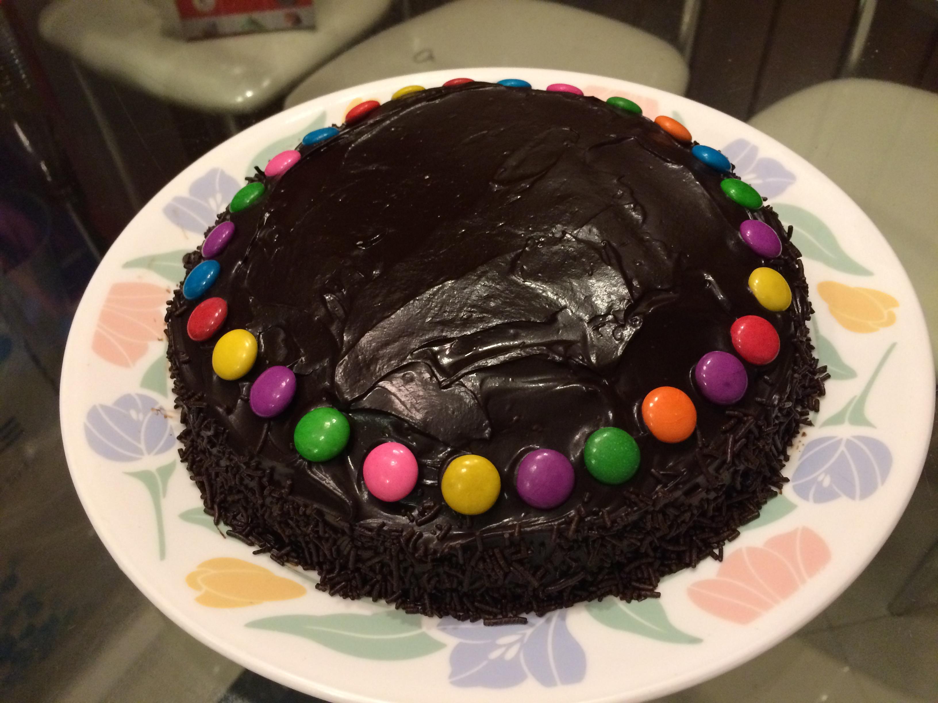 Filehomemade Chocolate Cake For Kidsjpg Wikimedia Commons