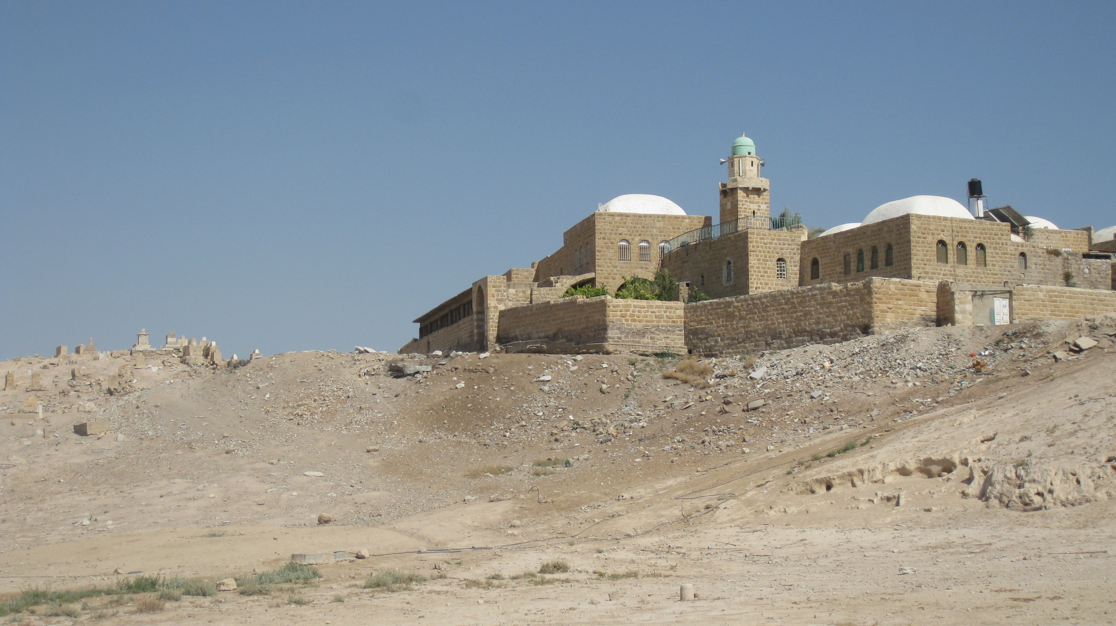 English: Nabi Musa עברית: נבי מוסא, מדבר יהודה...