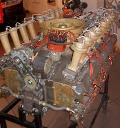 flat sixteen engine [ 876 x 1026 Pixel ]