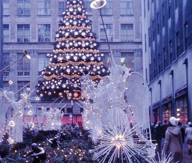 Filerockefeller Center Christmas Tree New York  Flickr Phillipc