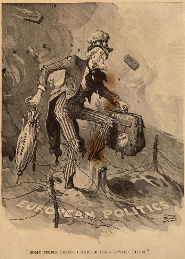 Neutrality Act Political Cartoon