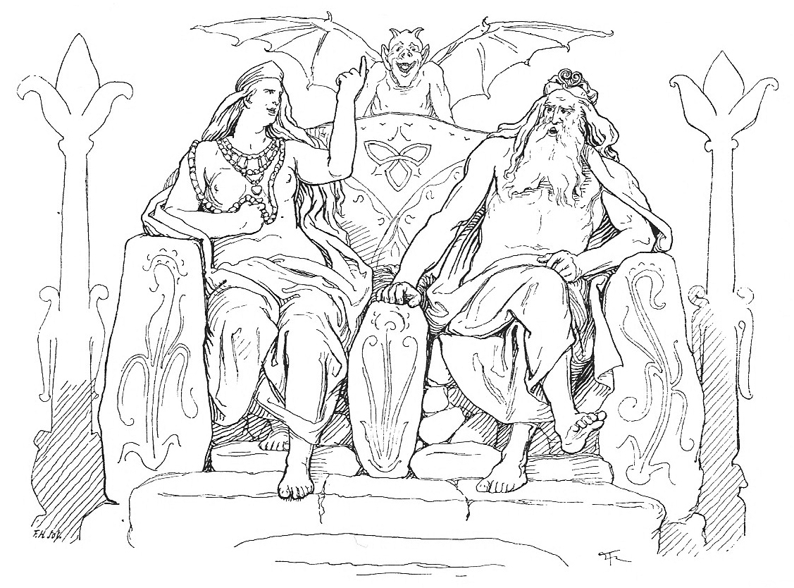 File Frigg And Odin In Grimnismal By Fr Lich