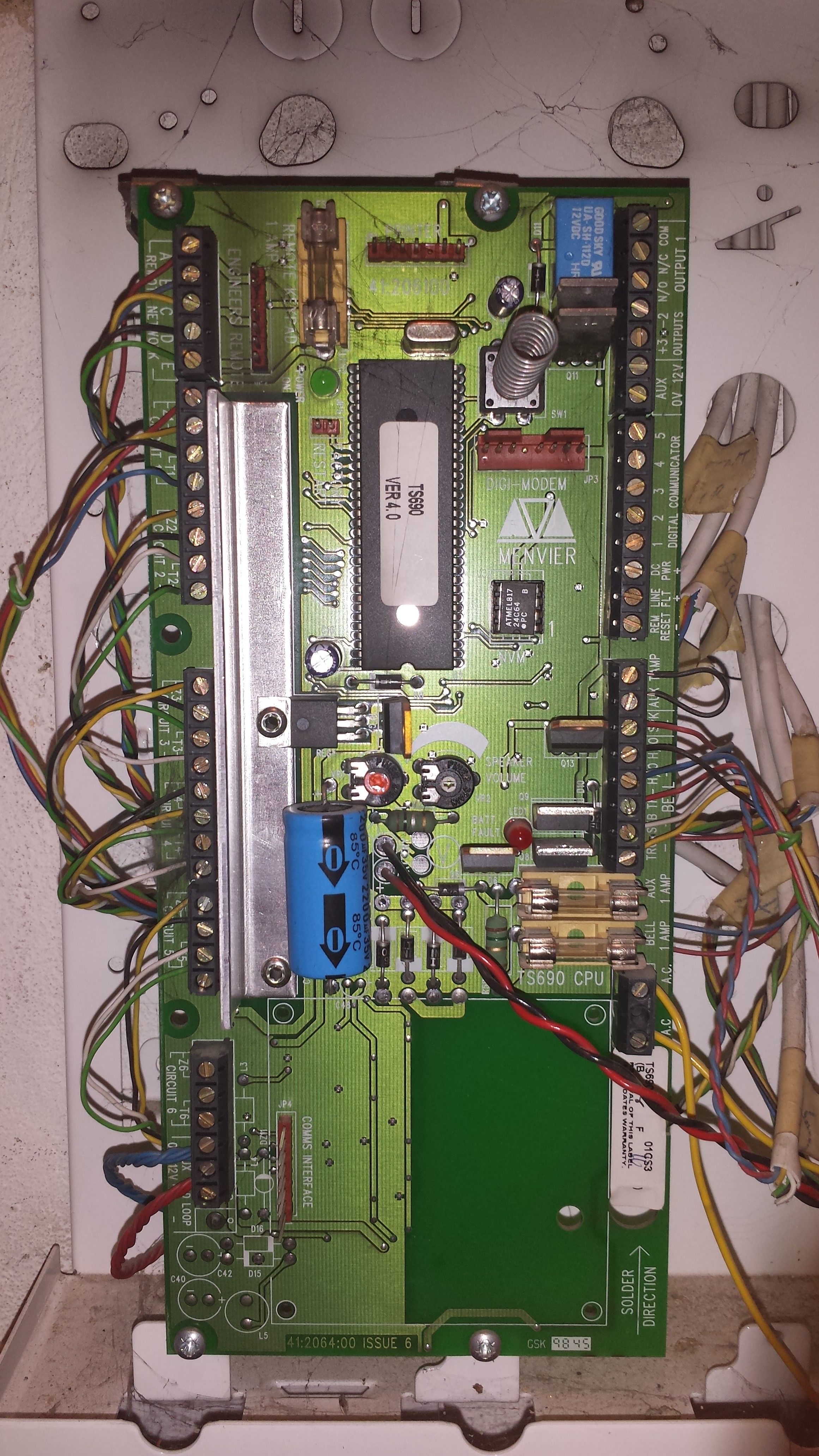 Home Alarm Wiring Part 1