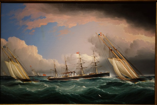 File York Yacht Club Race James Edward Buttersworth
