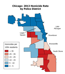 Chicago Crime Rate Map