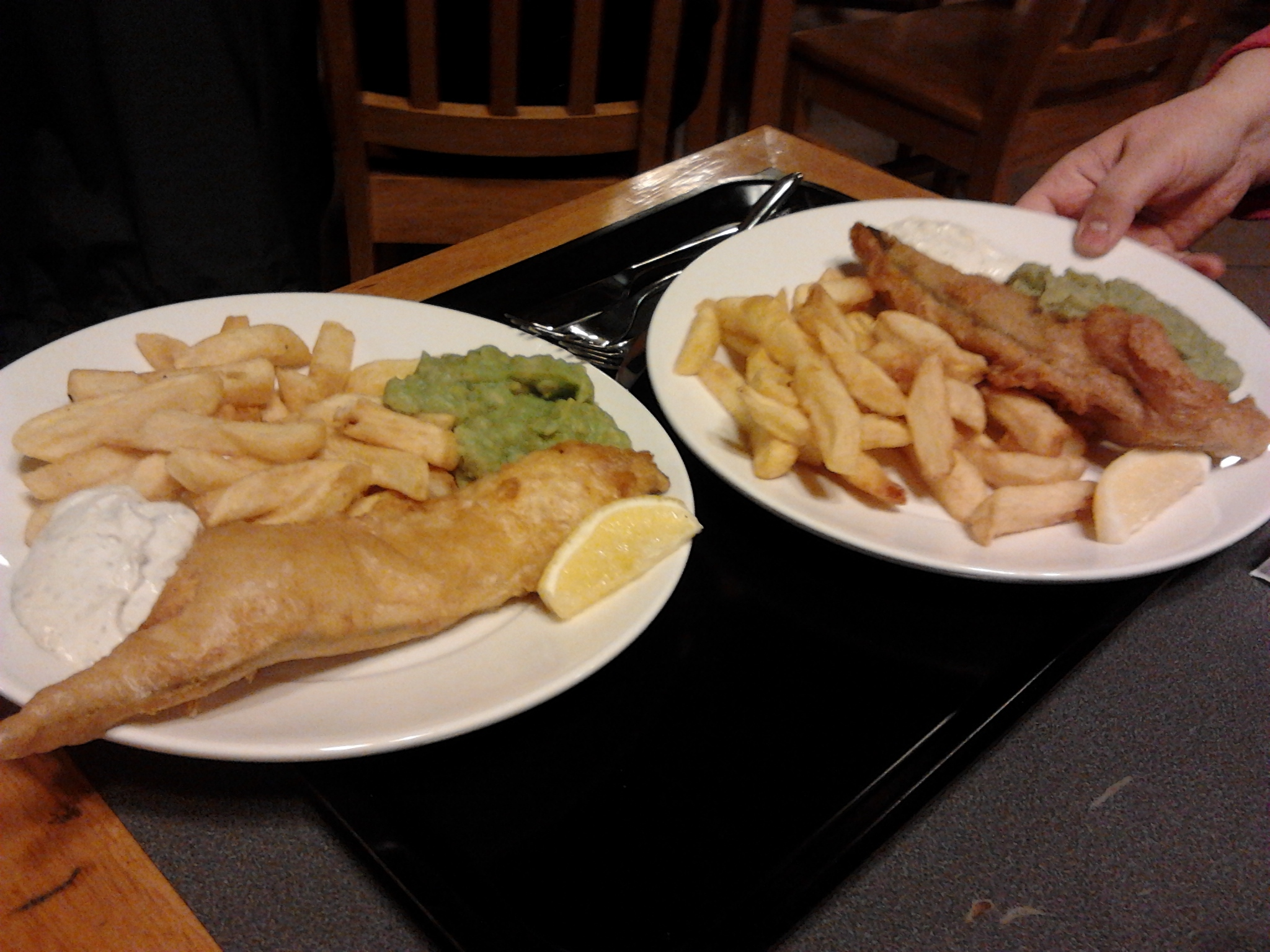 file fish and chips