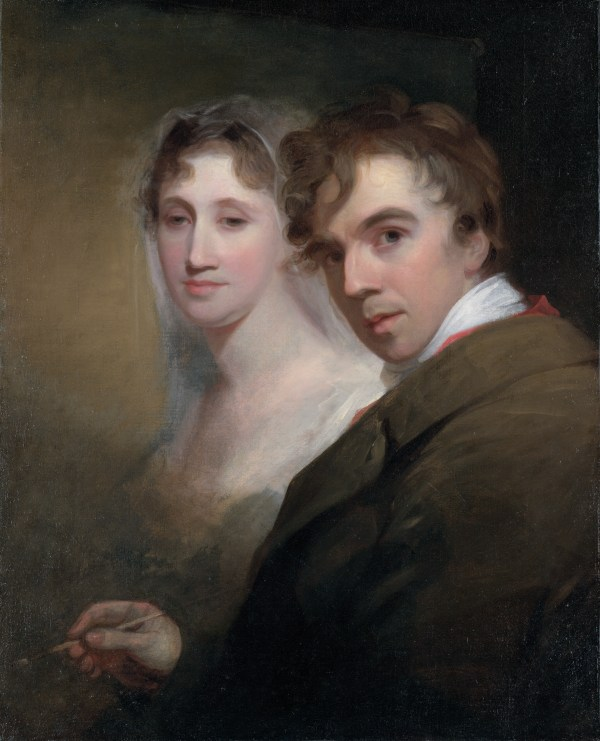 The Painting Artist Thomas Sully Portrait of His Wife