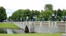 Luv 2 Vigeland Sculpture Park Oslo Norway