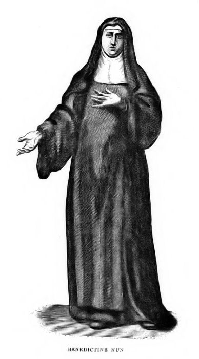 1904 image of a Benedictine nun