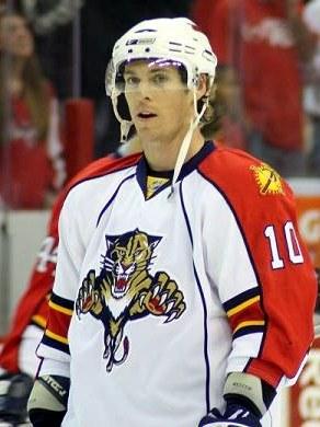 #10 David Booth, Florida Panthers