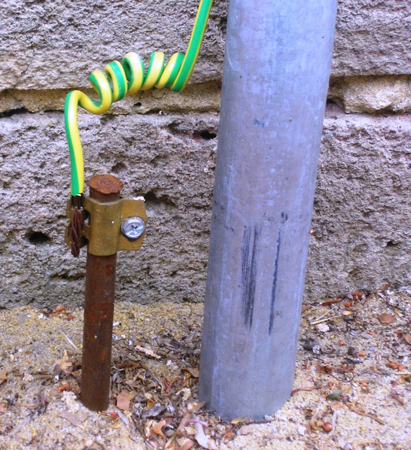 hight resolution of ground electricity