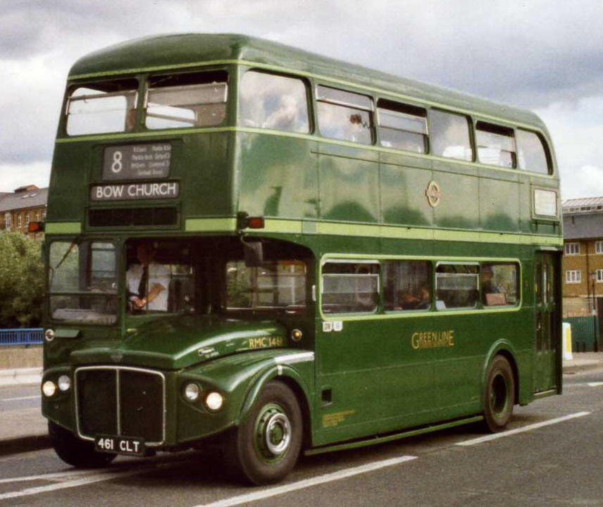 Routemaster coach RMC1461  Wikimedia Commons