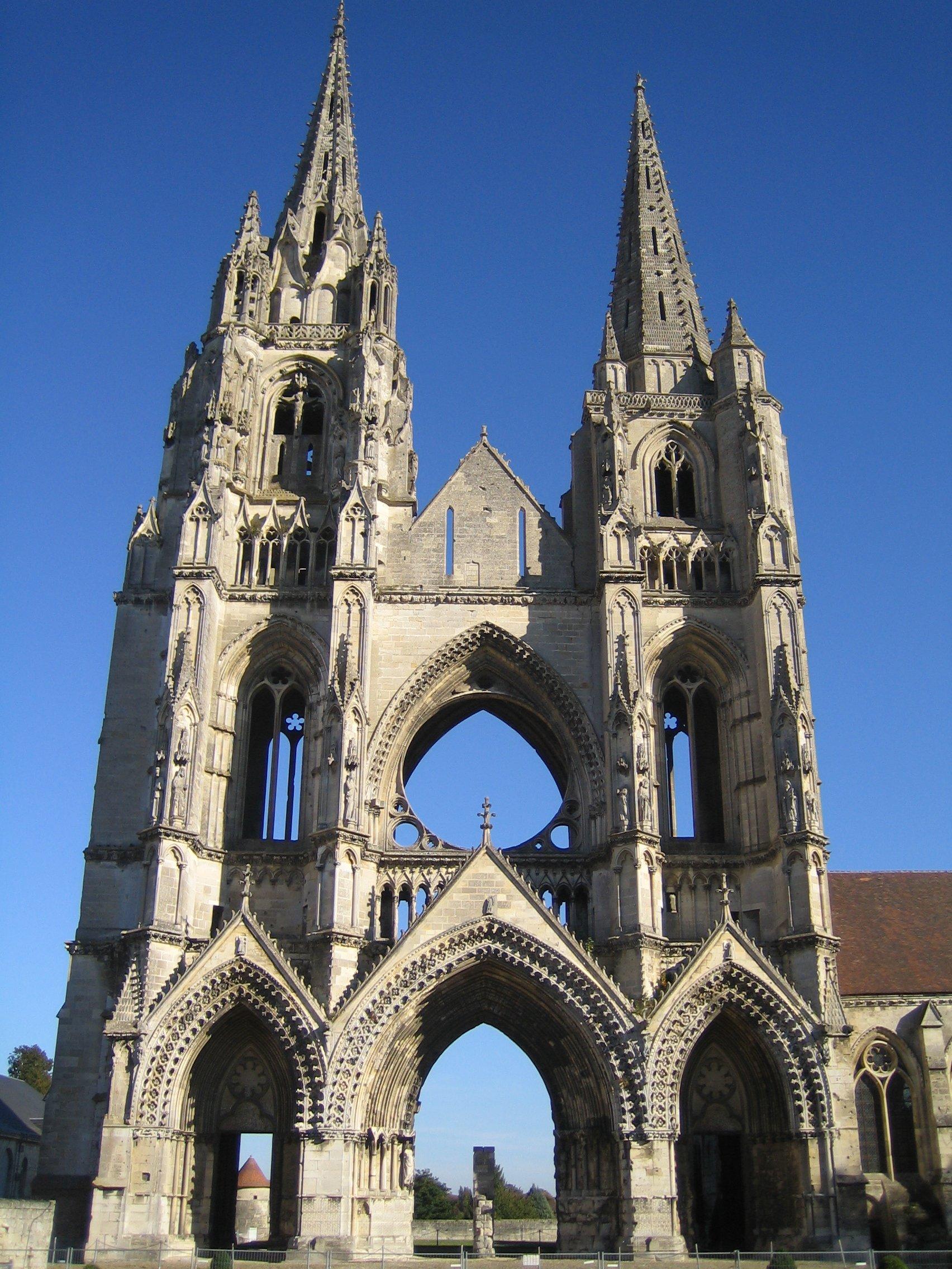 Abbaye Saint Jean Des Vignes : abbaye, saint, vignes, File:Soissons-saint-jean-des-vignes.jpg, Wikimedia, Commons