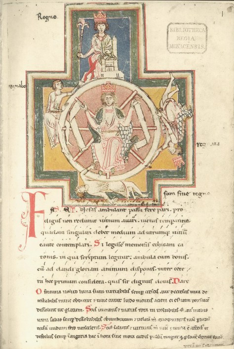A roda da Fortuna no Codex Buranus
