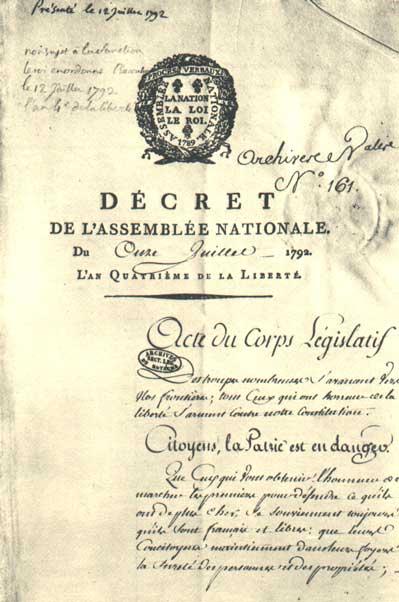 Pour La France En Danger : france, danger, Patrie, Danger, Wikipedia