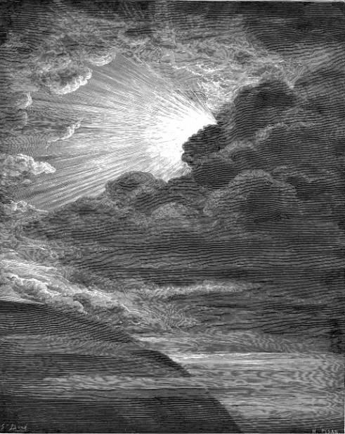 The Creation of Light by Gustave Doré
