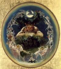 Daniel Maclise - Faun and the Fairies