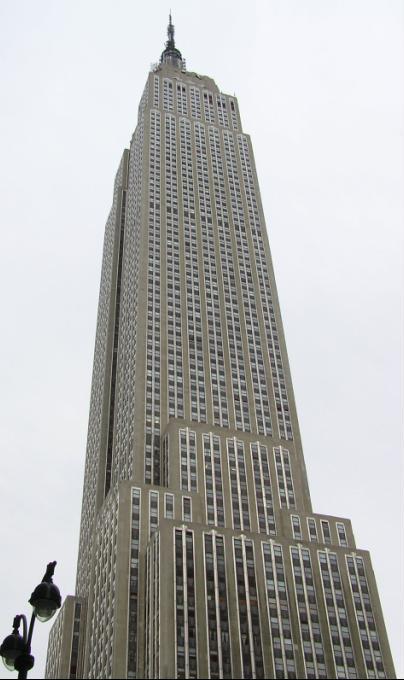 El Empire State Building, foto reciente.