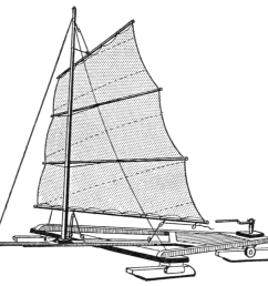 file psm v88 d169 completed ice boat showing the sail details png [ 1052 x 983 Pixel ]