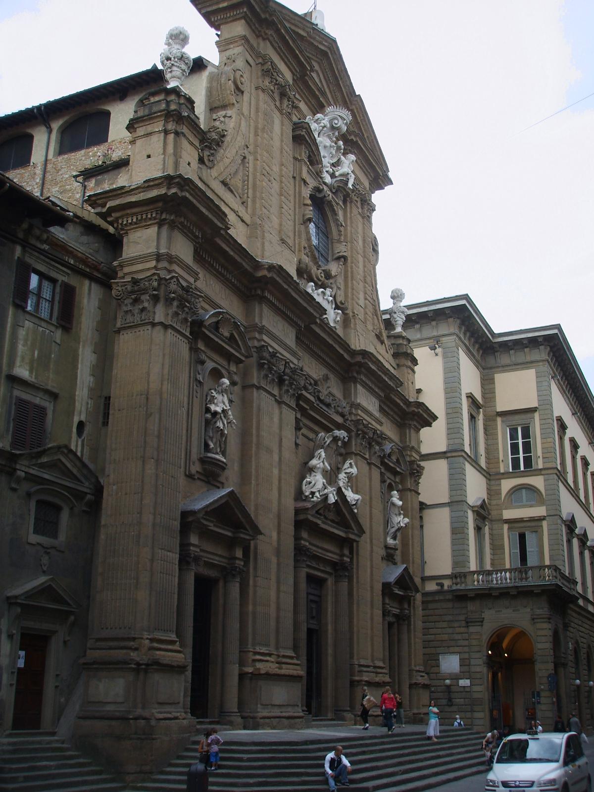 Chiesa dei Santi Michele e Gaetano  Wikipedia