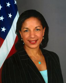Susan Rice, former US Ambassador to the UN.
