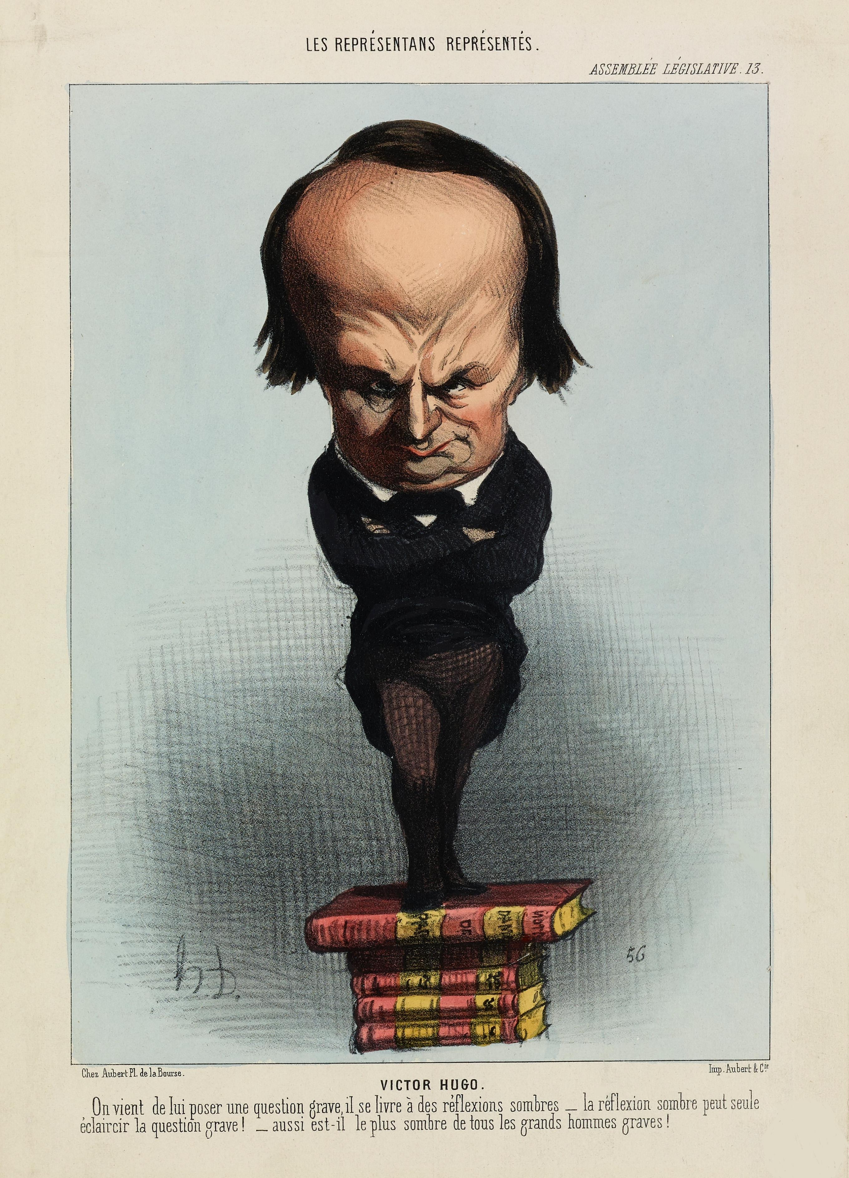Victor Hugo-Cartoon3