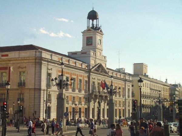 File Vista Lateral De La Puerta Del Sol